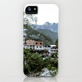 Aguas Calientes iPhone Case