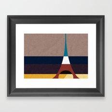 Paris, Eiffel Tower Framed Art Print