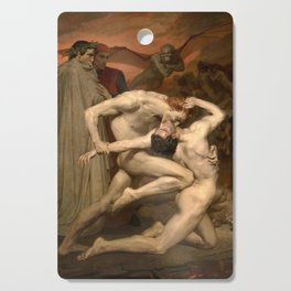 Dante and Virgil in Hell Cutting Board