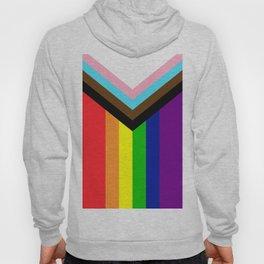 LGBTQ+ Pride Flag Inclusive (LGBTQ+ Pride, Gay Pride) Hoody