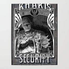 Kharis Security Service Poster