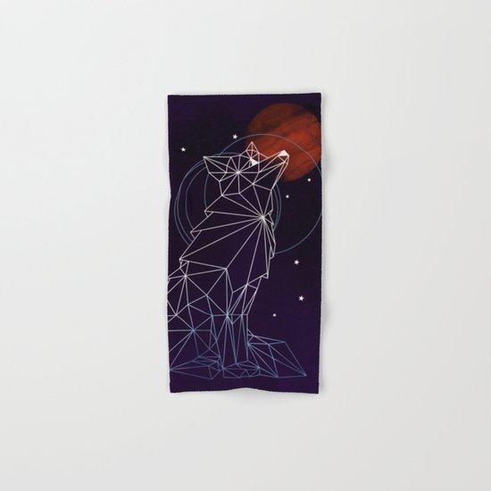 Fox in the Stars Hand & Bath Towel