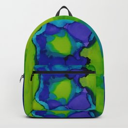Purple and green dreams Backpack