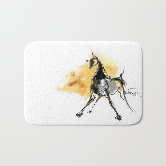 cool sketch 99 Bath Mat
