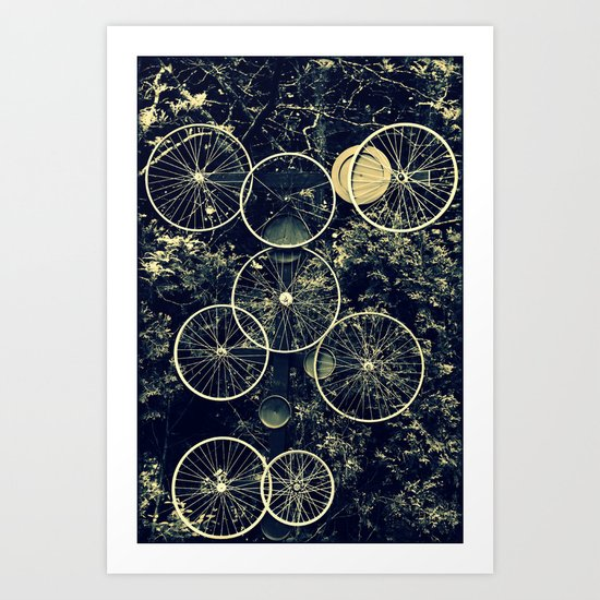 Tire - less Art Print