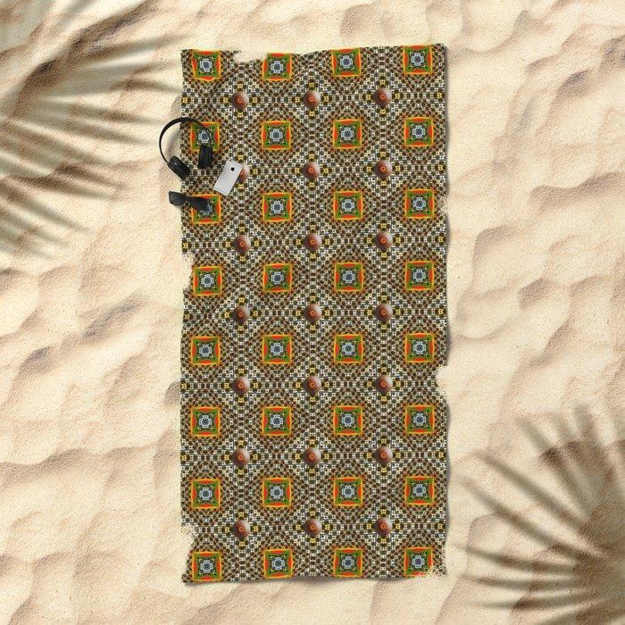 Odo Pattern Beach Towel
