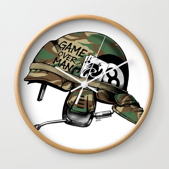 Game Over, Man! Wall Clock