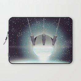 Sputnik Space Race Poster Laptop Sleeve