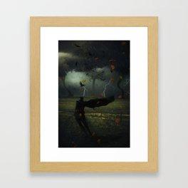 Hero of the Storm by GEN Z Framed Art Print