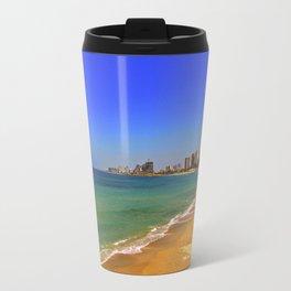 The beach Travel Mug