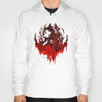 werewolf Hoodies featuring Werewolf by Kivapo