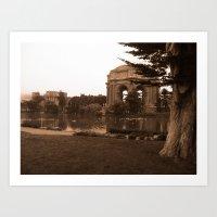 Palace of Fine Arts, San Francisco, CA Art Print