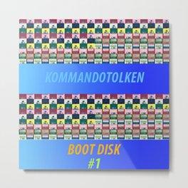 Kommandotolken - Boot Disk #1 Metal Print