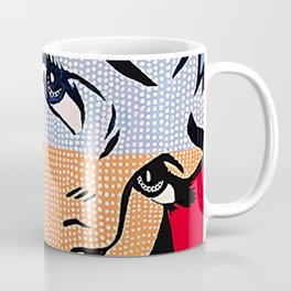 Lichtenstein's Girl Coffee Mug
