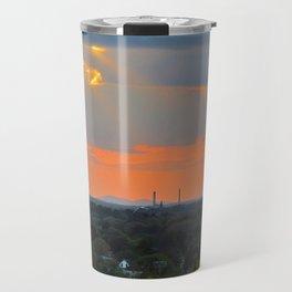 God Rays Sunset (1) Travel Mug