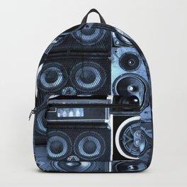 Music Speaker Sound Stack Backpack