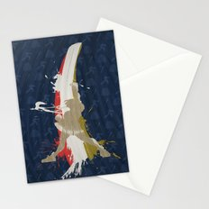 Victory At School (Homage to Sakura of Street Fighter) Stationery Cards