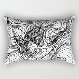 Diving to the depths Rectangular Pillow