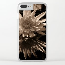 A lily Clear iPhone Case