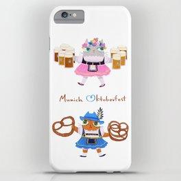 Munich Kitties iPhone Case