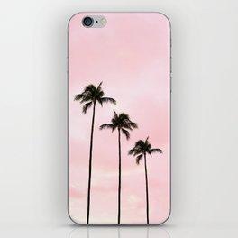 Palm Tree Photography Peach | Blush Pink | Millennial Pink | Miami iPhone Skin