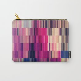 Abstract summer bright square pattern Carry-All Pouch