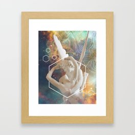 Nebulous Framed Art Print