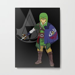 The Legend of Zelda: Hylian Creed Metal Print