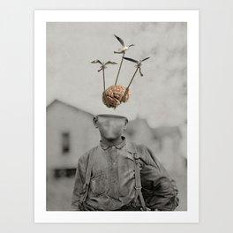 Floating Mind Art Print
