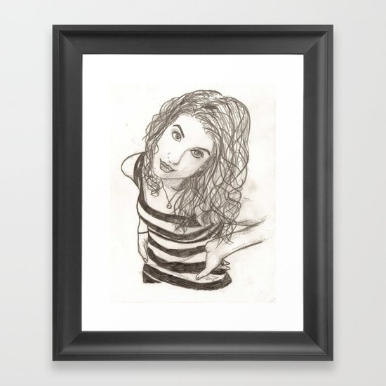 Hayley Williams Framed Art Print