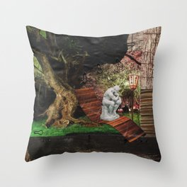 Think About It Throw Pillow