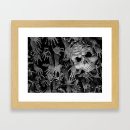 The White Temple - Thailand - 008 Framed Art Print