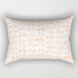 Bicycle Pattern Rectangular Pillow