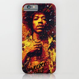 Jimi Hendrix | Pop Art | Old School Collection iPhone Case