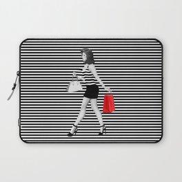 Stripes in fashion Laptop Sleeve