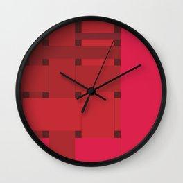 neonred Wall Clock