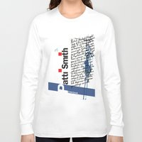 calligraphy Long Sleeve T-shirts featuring Calligraphy 2 by omerfarukciftci