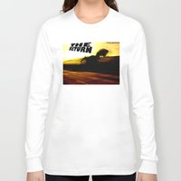 return Long Sleeve T-shirts featuring THE RETURN by Design Gregory