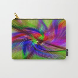 Coloured Whirligig Carry-All Pouch