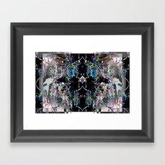 Blending modes Framed Art Print