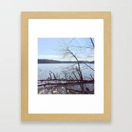 Lake Brandt Framed Art Print