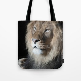 Portrait of a King Tote Bag