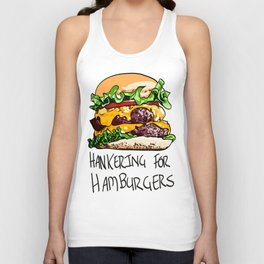 Hamburger Unisex Tank Top