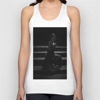 shadow Tank Tops featuring Shadow by Red Drago