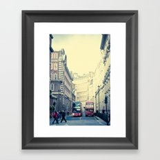 When New Meets Old  Framed Art Print