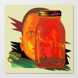 Alice in Chains - Jar of Flies  (Rock Album Cover) Canvas Print