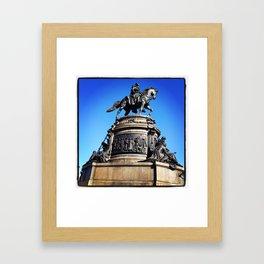 Eakins Oval - Philly Framed Art Print