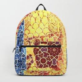Gustav Klimt & Persian Ceramic Art inspired Backpack