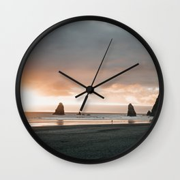Cannon Beach Wall Clock