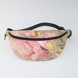 Vintage Velvet #floral #watercolor Fanny Pack